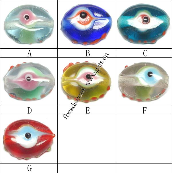 Eye Color Meaning http://www.gets.cn/product/Turkish-Handmade-Glass-Evil-Eye-Beads--Flat-oval--11x16x7mm_p118799.html