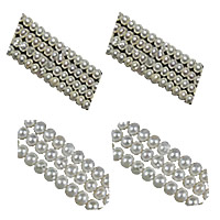 Button Cultured Freshwater Pearl Beads
