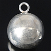 925 Sterling Silver varëse, argjend praruar vërtetë, 13.50x13.50mm, : 2.5mm, 3PC/Qese,  Qese