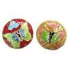 Beads Smooth Cloisonne, Round Flat, asnjë, 19x7mm, : 1mm, 20PC/Qese,  Qese