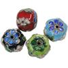 Beads filigran Cloisonne, 15x13mm, : 1mm, 30PC/Qese,  Qese