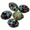 Beads filigran Cloisonne, Kafshë, asnjë, 13x10x6mm, : 1mm, 60PC/Qese,  Qese