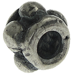 925 Sterling Silver Beads, Tajlandë, Tub, 4.50x3.20mm, : 1.6mm, 20PC/Qese,  Qese