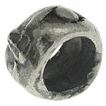 925 Sterling Silver Beads, Tajlandë, 3.50x1.90mm, : 2.2mm, 30PC/Qese,  Qese