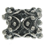 925 Sterling Silver Beads, Tajlandë, Tub, 9.20x7.50mm, : 3.7mm, 5PC/Qese,  Qese