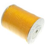 Organza Ribbon, portokall, 6mm, :500Oborr,  PC