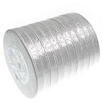 Ribbon Sparkle, argjend, 10mm, :250Oborr, 10PC/Shumë,  Shumë