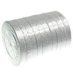 Ribbon Sparkle, argjend, 12mm, :250Oborr, 10PC/Shumë,  Shumë