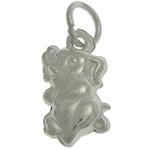 925 Sterling Silver varëse, Elefant, argjend praruar vërtetë, 6.30x12x3.40mm, : 3.5mm, 5PC/Qese,  Qese