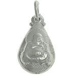 925 Sterling Silver varëse, Lot, argjend praruar vërtetë, 8.60x15.20x5mm, : 4mm, 3PC/Qese,  Qese