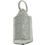 925 Sterling Silver varëse, argjend praruar vërtetë, 6.80x14x5mm, : 4mm, 3PC/Qese,  Qese