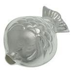 925 Sterling Silver Beads, Peshk, argjend praruar vërtetë, 11.50x8.60x6mm, : 1.5mm, 5PC/Qese,  Qese