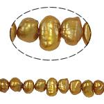 Barok Beads kulturuar Pearl ujërave të ëmbla, Pearl kulturuar ujërave të ëmbla, 3-4mm, : 0.8mm, :14.5Inç,  14.5Inç,