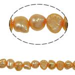 Barok Beads kulturuar Pearl ujërave të ëmbla, Pearl kulturuar ujërave të ëmbla, 4-5mm, : 0.8mm, :14.5Inç,  14.5Inç,