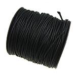 Wachsschnur, Gewachsten Baumwollkordel, verschiedene Größen vorhanden, schwarz, 80WerftenHof/Spule, verkauft von Spule
