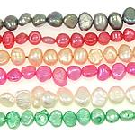 Barok Beads kulturuar Pearl ujërave të ëmbla, Pearl kulturuar ujërave të ëmbla, ngjyra të përziera, Një, 5-6mm, : 0.8mm, :14.5Inç, 10Fillesat/Qese,  Qese