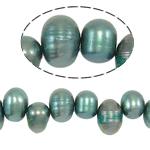 Barok Beads kulturuar Pearl ujërave të ëmbla, Pearl kulturuar ujërave të ëmbla, Një, 6-7mm, : 0.8mm, :14Inç,  14Inç,