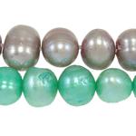 Cluster Ball Beads kulturuar Pearl, Një, 6-7mm, : 1mm, :14.5Inç,  Qese