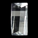 Crystal Pendants, Kristal, Drejtkëndësh, Kristal, 10x20x7mm, : 1mm,  PC