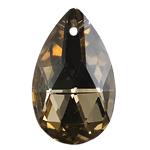 Crystal Pendants, Kristal, Lot, Topaz tymosur, 20x27x8mm, : 1mm, 10PC/Qese,  Qese