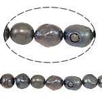 Barok Beads kulturuar Pearl ujërave të ëmbla, Pearl kulturuar ujërave të ëmbla, Një, 11-12mm, : 0.8mm, :15Inç,  15Inç,