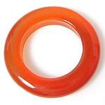 Pendants Red agat, Petull e ëmbël në formë gjevreku, 8x8mm, : 8mm, 50PC/Shumë,  Shumë