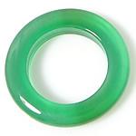 E gjelbër varëse agat, Jeshile agat, Petull e ëmbël në formë gjevreku, 10x10mm, : 8mm, 50PC/Shumë,  Shumë