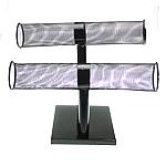 Byzylyk Iron Display, Hekur, Raft, asnjë, asnjë, e zezë, , nikel çojë \x26amp; kadmium falas, 54x250mm, 190mm, 150mm, 3PC/Shumë,  Shumë