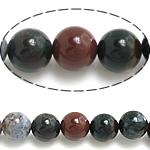 Manik-manik batu akik India alami, Putaran, 4mm, : 1mm, : 15.5Inci, 97PC/Strand,  15.5Inci,