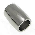 Beads bizhuteri çelik inox, Stainless Steel, Daulle, asnjë, 12x9mm, : 6mm, 50PC/Shumë,  Shumë