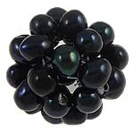 Cluster Ball Beads kulturuar Pearl, Pearl kulturuar ujërave të ëmbla, Round, 15mm, 10PC/Qese,  Qese