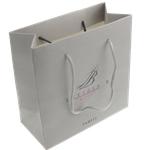 Shopping Bag, Letër, Drejtkëndësh, i përzier, gri, 150x150x70mm, 10PC/Qese,  Qese