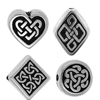 Sterling Silver Celtic Beads