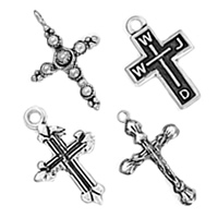 Sterling Silver Cross Pendants