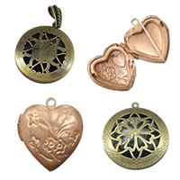 Iron Locket Pendants