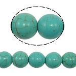 Bruz Beads, Bruz sintetike, Round, 10mm, : 1mm, : 15.5Inç, 40PC/Fije floku,  15.5Inç,