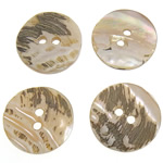 Qepje Button, Predhë, Monedhë, 18x18x1.5-2mm, : 2mm, 500PC/Qese,  Qese