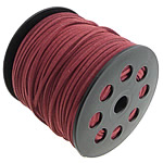 Cord Lesh, Kurrizit Lesh, kuqe të errët, 3x1.50mm, :100Oborr,  PC