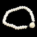 Byzylyk Coral, Coral sintetike, sintetik, e bardhë, 11x11x8mm, :6Inç, 10Fillesat/Qese,  Qese