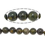 Veins Natyrore Dragon agat Beads, Agat Dragon venë, Round, 14mm, : 1.5mm, : 15.5Inç, 5Fillesat/Shumë,  Shumë