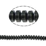 Non-Beads magnetik kuqe e mbylltë, Jo-magnetike kuqe e mbylltë, Rondelle, e zezë, Një, 4x2mm, : 1mm, :15.5Inç, 10Fillesat/Shumë,  Shumë