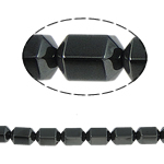 Non-Beads magnetik kuqe e mbylltë, Jo-magnetike kuqe e mbylltë, Kolonë, e zezë, Një, 10x8mm, : 1.5mm, :15.5Inç, 10Fillesat/Shumë,  Shumë