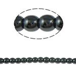 Non-Beads magnetik kuqe e mbylltë, Jo-magnetike kuqe e mbylltë, Round, e zezë, Një, 3mm, : 1mm, :15.5Inç, 10Fillesat/Shumë,  Shumë
