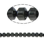 Non-Beads magnetik kuqe e mbylltë, Jo-magnetike kuqe e mbylltë, Kolonë, e zezë, Një, 4x4mm, : 1mm, :15.5Inç, 10Fillesat/Shumë,  Shumë