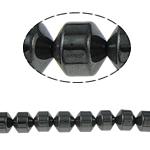 Beads magnetik kuqe e mbylltë, Kolonë, e zezë, Një, 8x8mm, : 1.5mm, :15.5Inç, 10Fillesat/Shumë,  Shumë