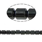 Beads magnetik kuqe e mbylltë, Kolonë, e zezë, Një, 5x5mm, : 1.5mm, :15.5Inç, 10Fillesat/Shumë,  Shumë