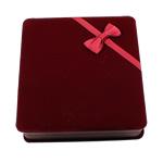 Kutia Velveteen Gjerdan, Katror, koral kuqe, 165x175x46mm,  PC