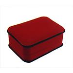 Varëse Velveteen Box, Drejtkëndësh, i kuq, 100x73x40mm, 12PC/Qese,  Qese