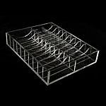 Organike byzylyk Glass Box, Glass Organike, Drejtkëndësh, i tejdukshëm, 220x170x40mm, 3PC/Shumë,  Shumë
