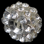 Beads bizhuteri Diamant i rremë, Rondelle, asnjë, me diamant i rremë, Kristal, 18x11mm, : 4mm, 50PC/Qese,  Qese